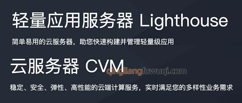 腾讯云轻量应用服务器和CVM云服务器区别